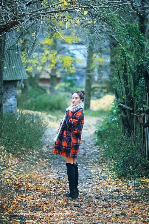 Thiếu nữ dao phố mùa thu 14