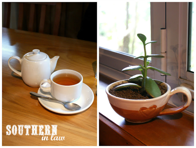 Tea on a Sunday Morning at The Golden Orb Cafe Norfolk Island - Gluten Free Coeliac Friendly Travel Reviews