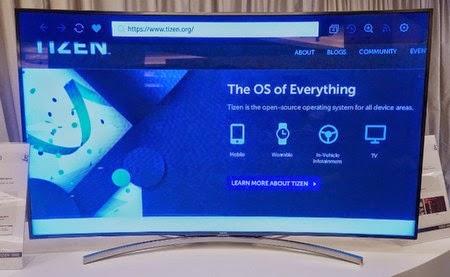 Từ 2015: Samsung chuyển sang sản xuất Smart TV nền tảng Tizen