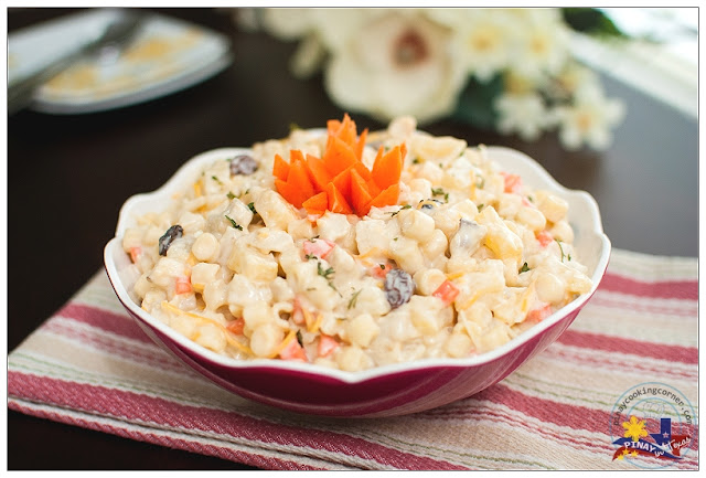 Pinay In Texas Cooking Corner Filipino Style Chicken Macaroni Salad