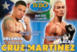 Orlando Cruz vs. Aalan Martinez