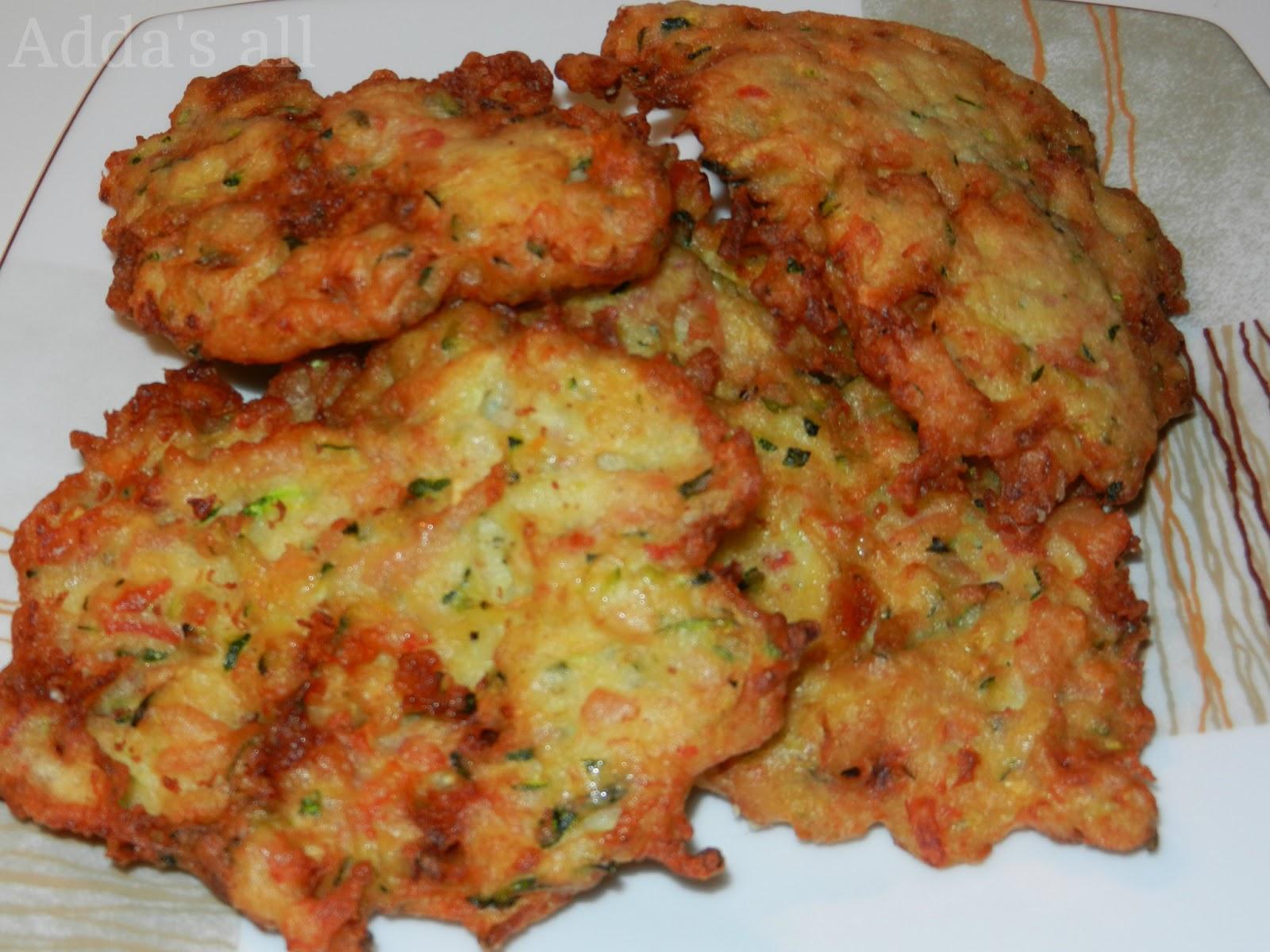 Très Adda's All : Frittelle di zucchine OH84