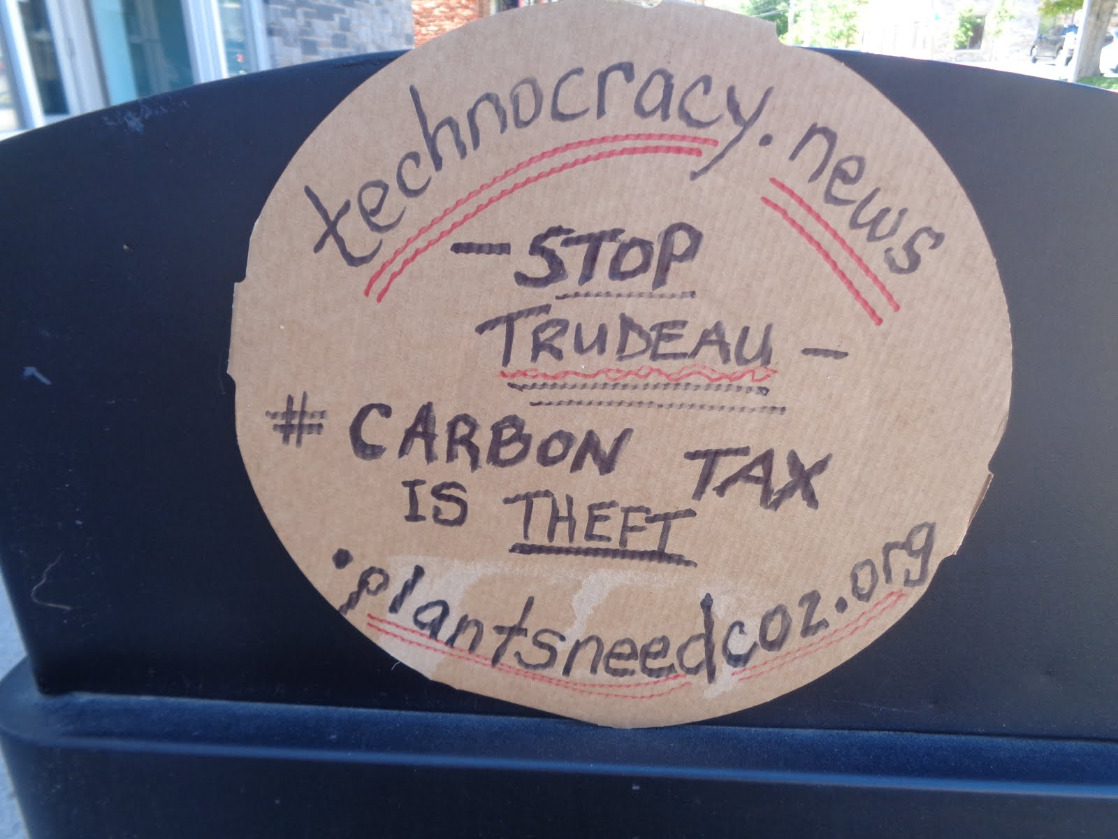 Stop Technoracy, Stop Trudeau - click pic