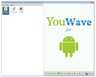 YouWave for Android Home 4.0.2