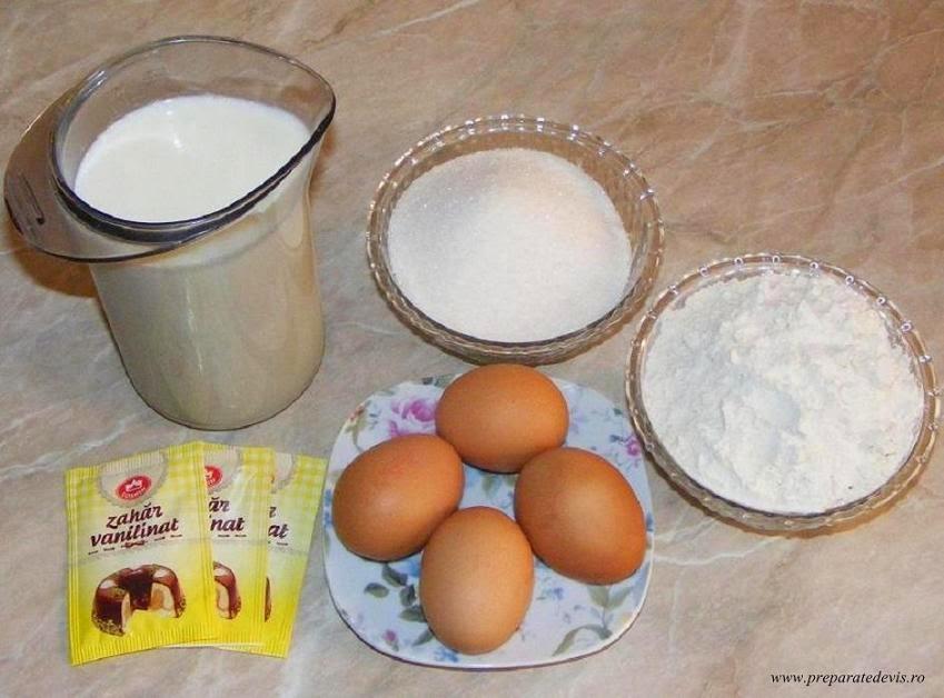 ingrediente crema de vanilie pentru eclere, cum se face crema pentru eclere, reteta crema de vanilie, ingrediente crema penteu eclere, retete culinare,