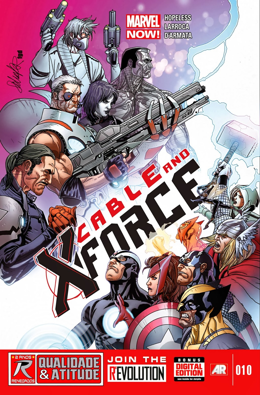 Nova Marvel! Cable e a X-Force #10