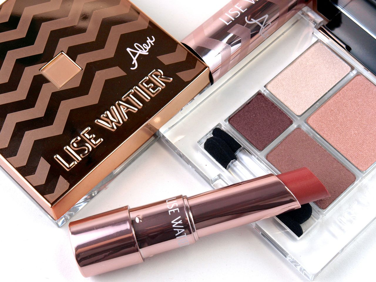 Lise Watier Alex Collection: Review and Swatches