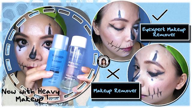 Menggunakan WARDAH EyeXpert - Eye Makeup Remove