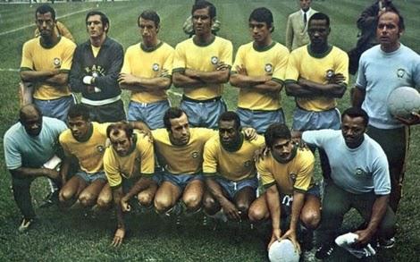 Seleção do Brasil tricampeão do mundo