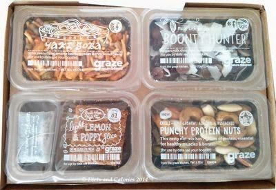 Graze breakfast snack box
