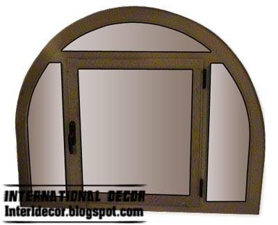 New aluminum windows frames systems interior designs for Round window design