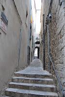Imatge d'un carrer del Call jueu. Bonastruc ça Porta. Girona. Altres llocs d'interès.