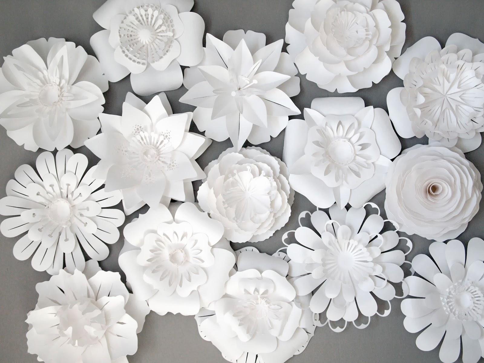 Flower White Paper Ukrandiffusion