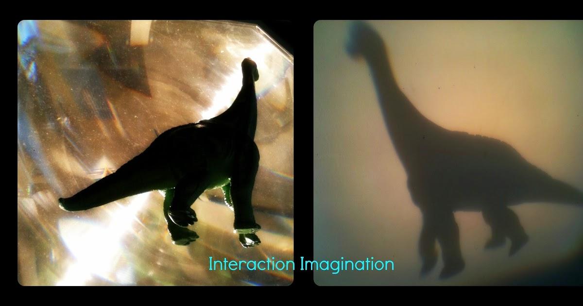 Interaction Imagination Dinosaurs Shadows And Shadow Exploration