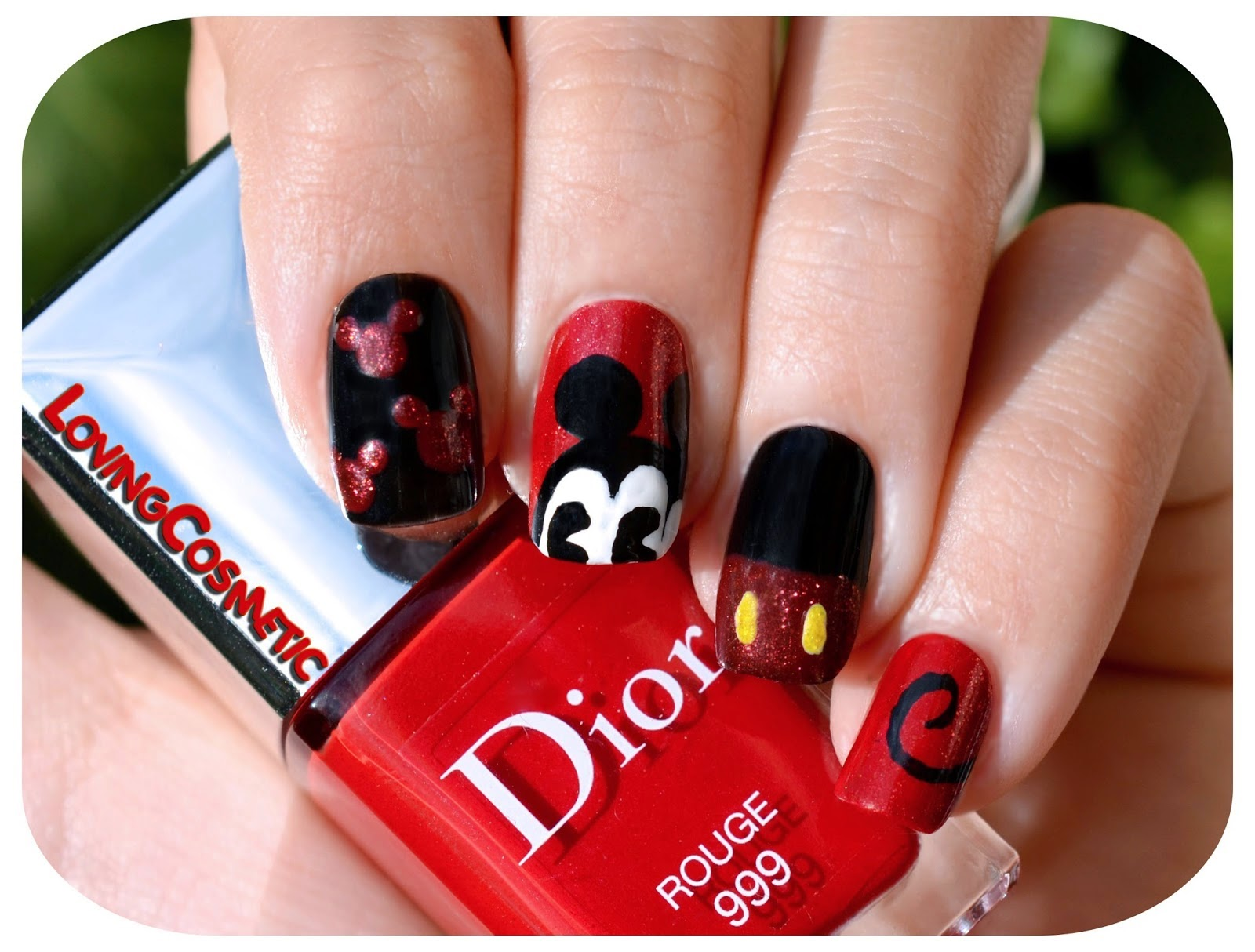 Nail Art - Disney Colours ~ LovingCosmetic