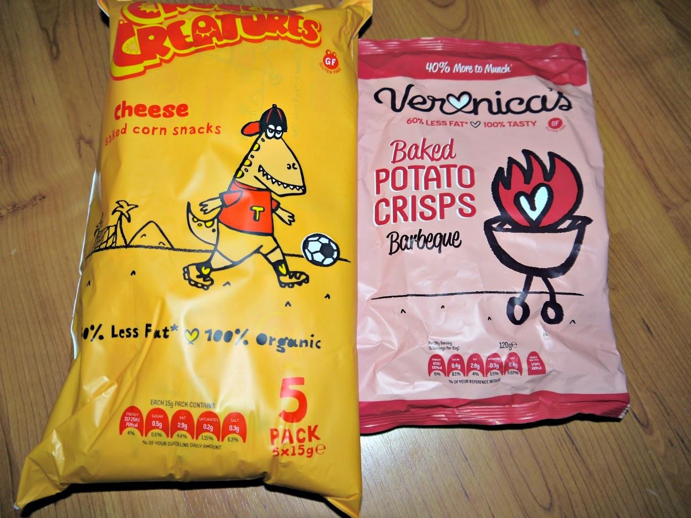 snacks, healthier crisps