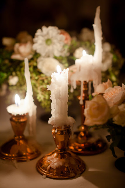 Copper Wedding Reception Details