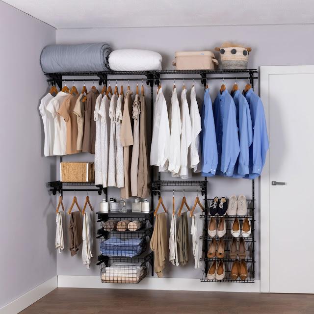 Armário aramado kit 16 - Closet ou quarto
