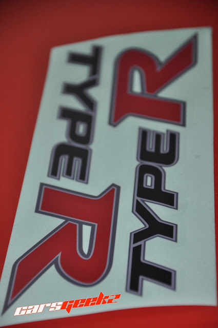 honda civic fd 2 decals sticker - side door sticker