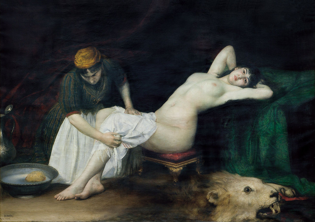 Henry lebasqur erotic paintings - 1 part 8