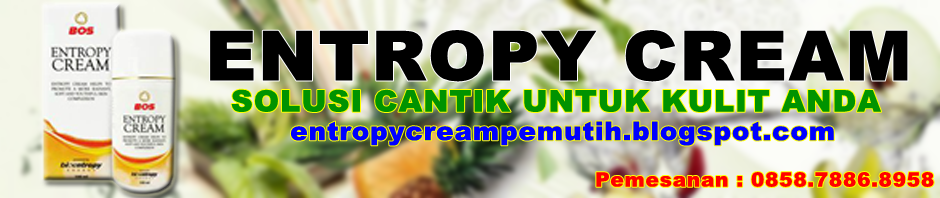Entropy Cream Pemutih Kulit
