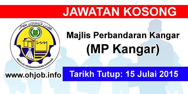 Jawatan Kerja Kosong Majlis Perbandaran Kangar (MPKangar) logo www.ohjob.info julai 2015