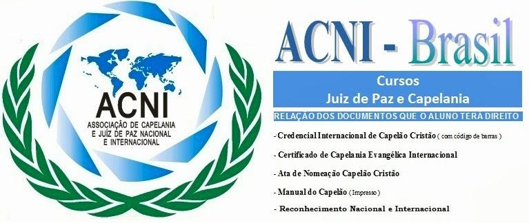 ACNI - CAPELANIA E JUIZ DE PAZ