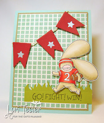 Go Fight Win-designed by Lori Tecler-Inking Aloud-stamps and dies from The Cat's Pajamas