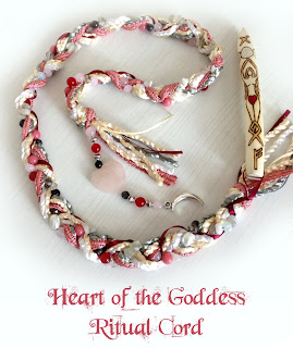 Heart of the Goddess Ritual Cord from MoonsCrafts )0(