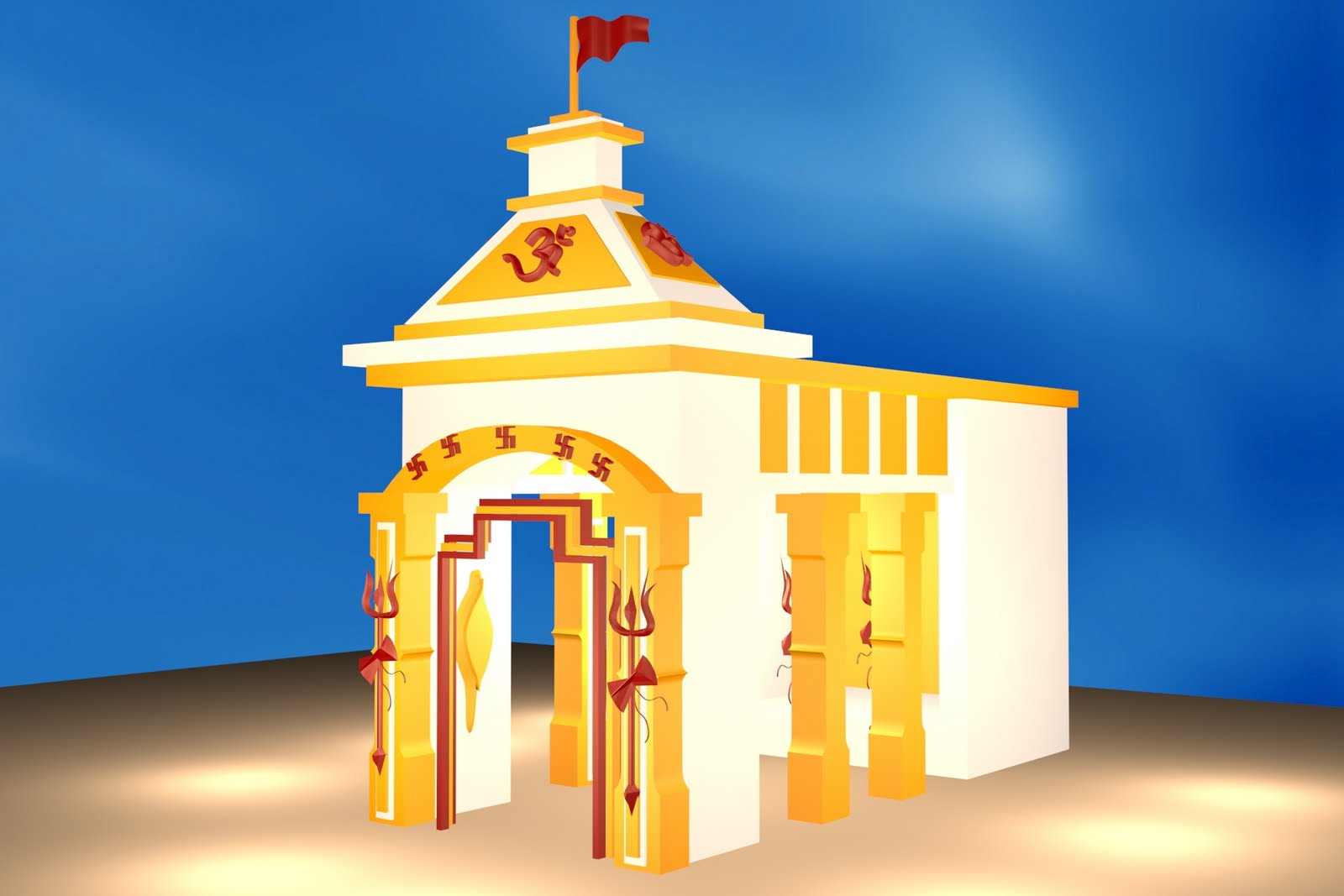 My works durga puja a simple pandal durga puja a simple pandal altavistaventures Choice Image