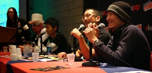 MASAKAZU KATSURA, GLI INCONTRI CON IL PUBBLICO A LUCCA COMICS AND GAMES 2014