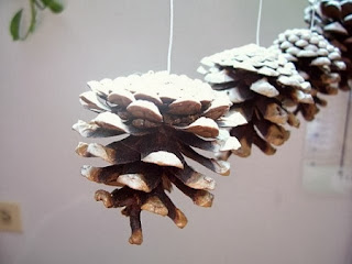 10 Ideas de Decoracion de Navidad con Piñas de Pino, III Parte