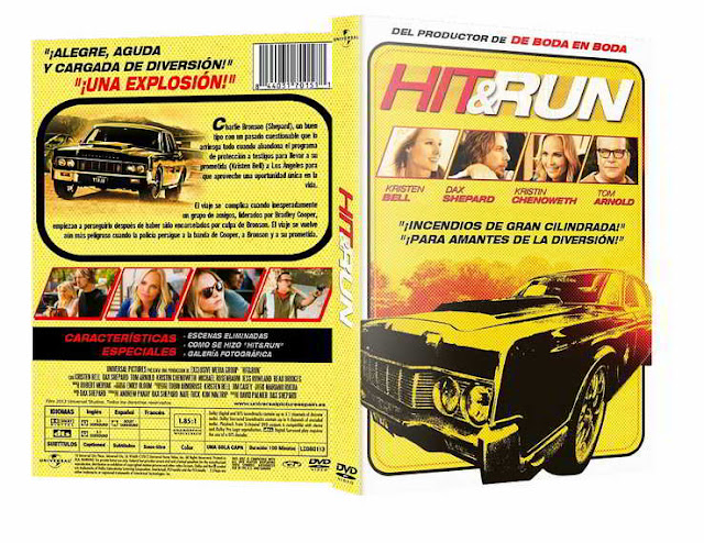 Hit and Run DVDR NTSC Español Latino 2012