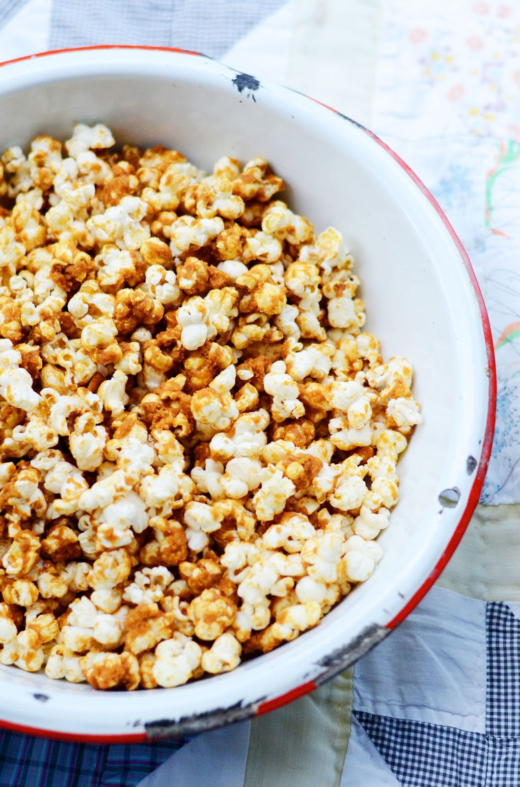 I Was Craving Popcorn So We Brought Along A Big Bowl Of Sea Salt Caramel This Is My Go To Recipe Friends Well Be Making It Many More Times