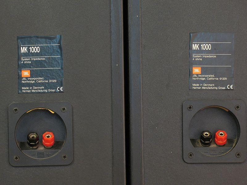 Jbl Mk1000 Loudspeakers Audiobaza