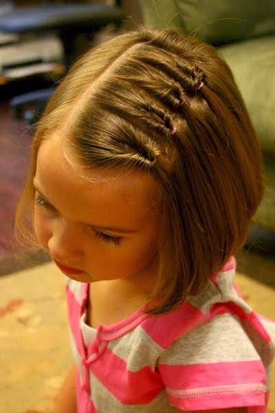 Peinados niña faciles - ideas pelo corto