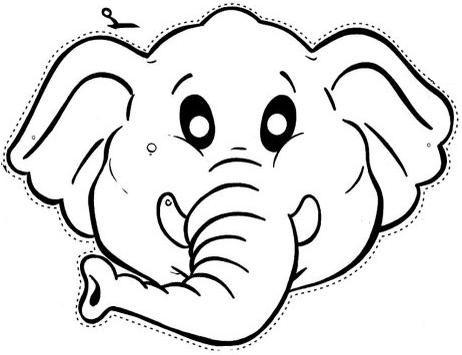 Caretas de elefantes - Imagui