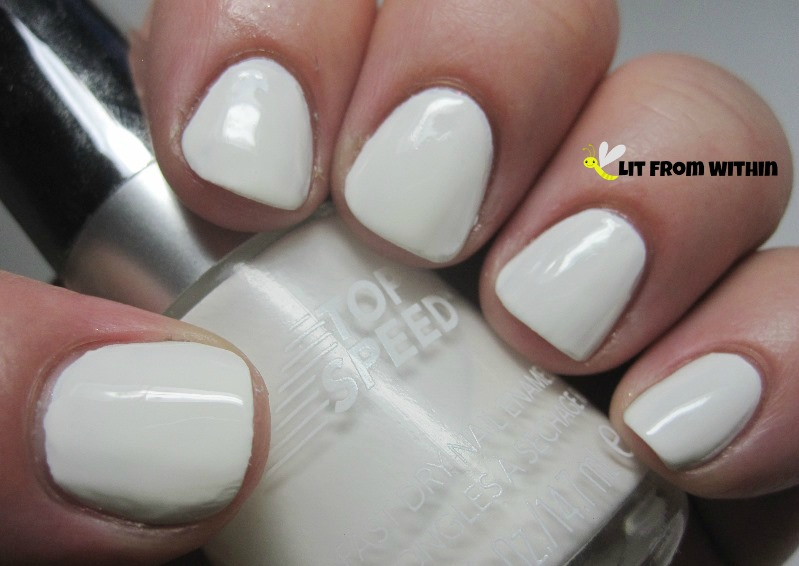 Revlon Spirit is a great two-coat fast-dry creamy white