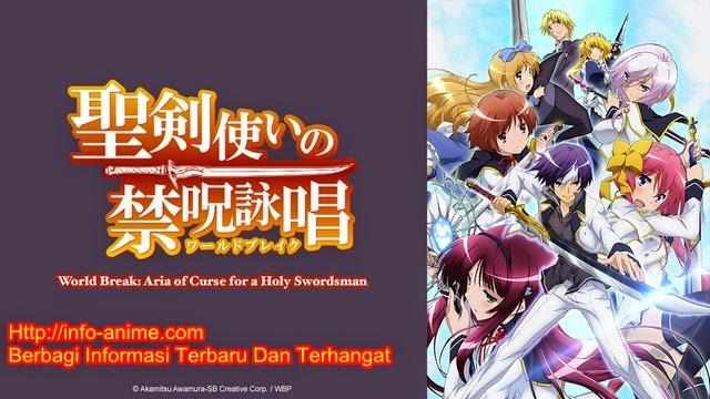 [ Info-Anime ] Crunchyroll Tayangkan Anime Seiken Tsukai No Blade Works Secara Online