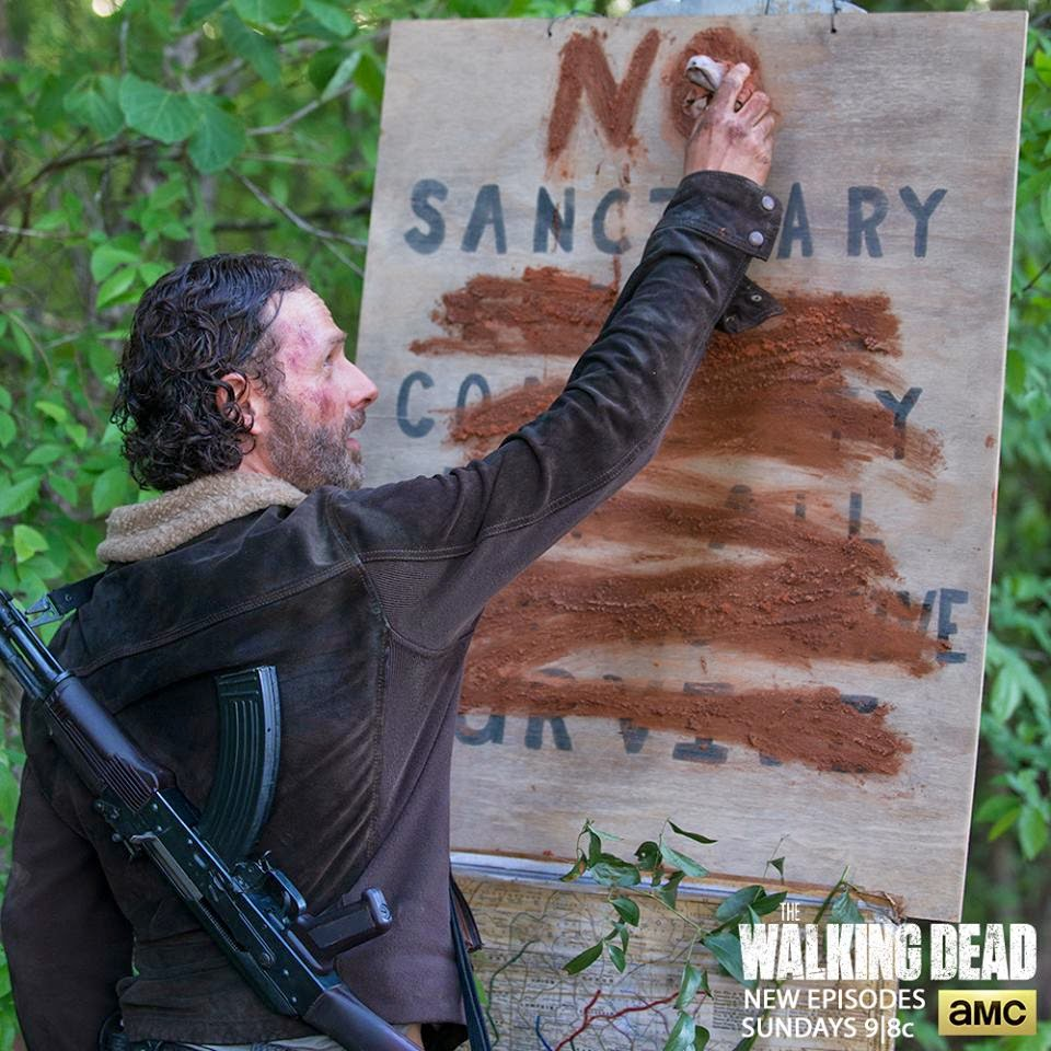 Dino's Beauty Diary - The Walking Dead Season 5 Episode 1 No Sanctuary Review