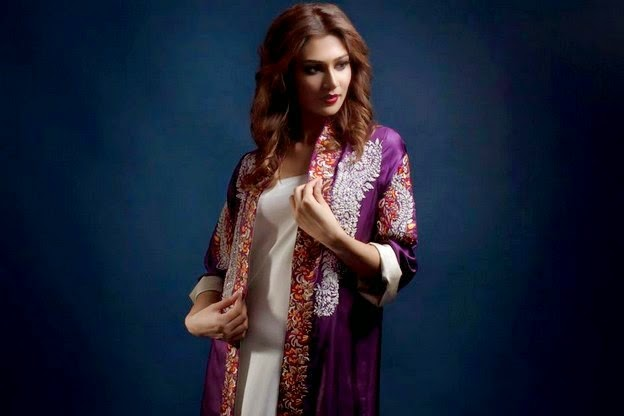 Maheen Kareem Eid Dress Collection 2014