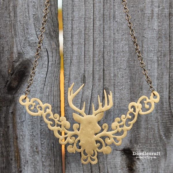 http://www.doodlecraftblog.com/2014/12/gold-deer-head-trophy-filigree-necklace.html