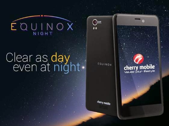 Cherry Mobile Equinox Night: 5-inch Full HD, Quad Core For Php9,999