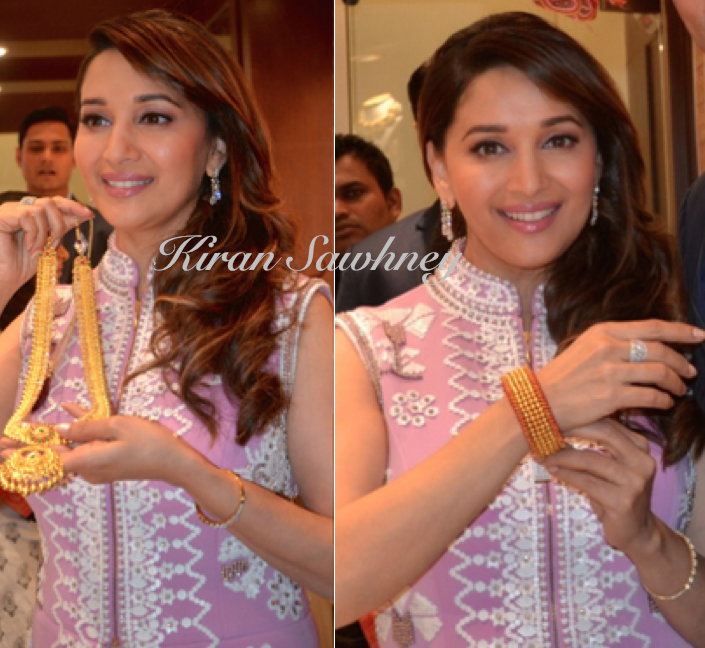 Madhuri Dixit for store launch of P N Gadgil jeweller's showroom