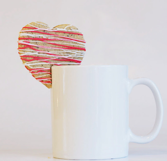 sugar, heart, pink, coffee, cookie, mug, white coffee mug, valentine, valentine's day