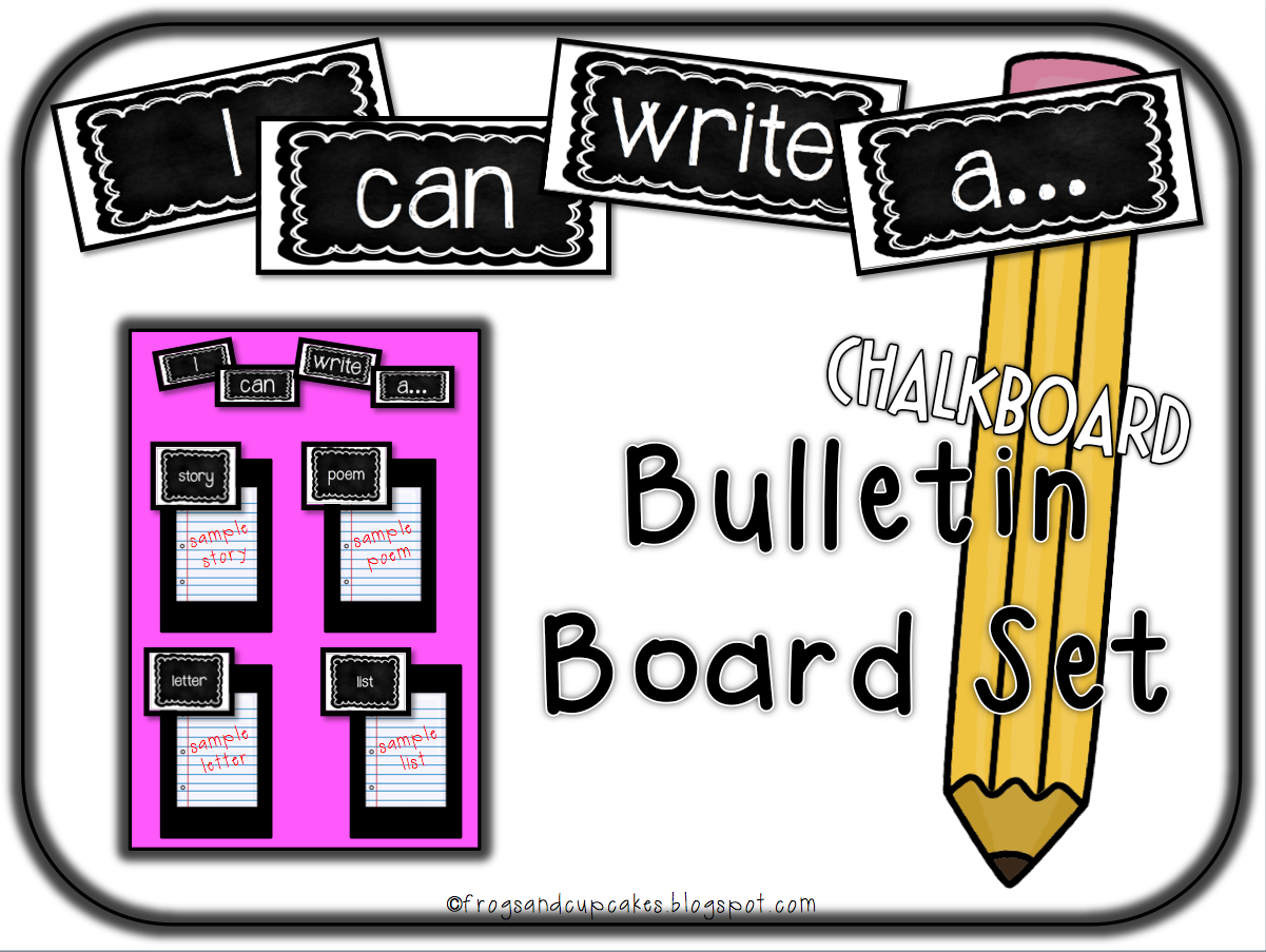 how to write a bulletin