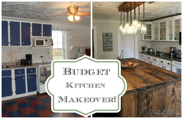 DIY Budget Kitchen Makeover