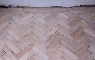 Beech Parquet Floor Repairs in Cheshire