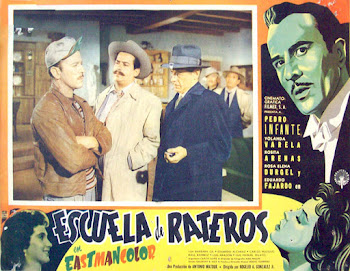 Escuela de rateros (1958) - Cartel de cine