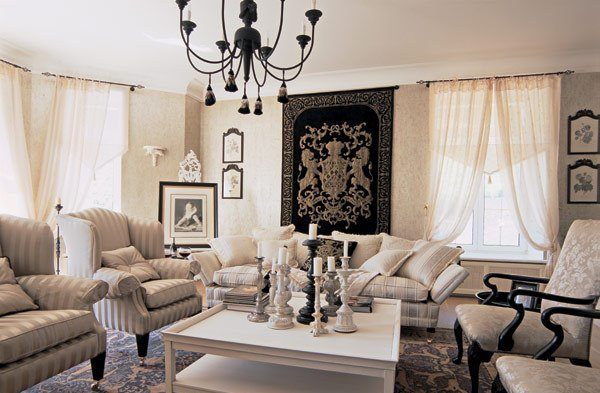 Desigrans Interior Style French Style Living Room 5 Autumn